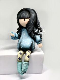 Gorjuss, fondant cake decoration Cake Decorating With Fondant, Fondant Decorations, Disney Princess, Disney Princes, Disney Princesses