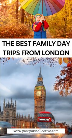 Discover the BEST family day trips from London! Family trips perfect for Autumn. Enjoy these easy trips from London with your family. Perfect for all ages. Short and long trips by car or rail. Get out of London, see England, explore the beauty that England has to offer, including sites like The Isle of Wight and Cambridge. Let's go! #england #london #daytrip #uk Travel Uk, Europe Travel Tips, London Travel, Budget Travel, Travel Guides, Travel Destinations, Family Trips, Family Day, Family Travel