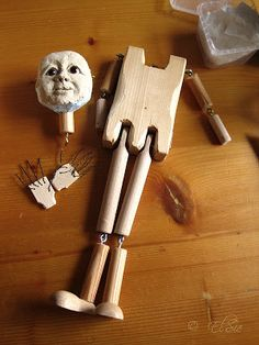 Grundgerüst für eine Marionette