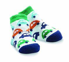 Mud Pie BabyBoys Newborn Car Sock Multi 012 Months