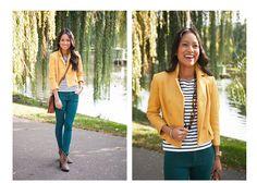 LoSoFancy Blog. Styled 3 Ways: The Audrey Jacket in Boston
