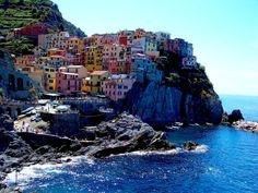 Cinque Terre, Italy. What a fun two days. Wish we could have stayed longer.