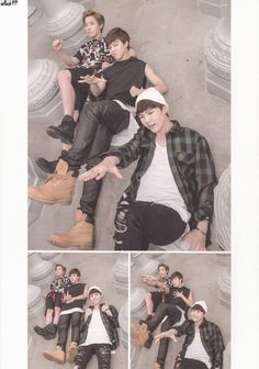 BTS NOW2 PHOTOBOOK - They're such dorks...