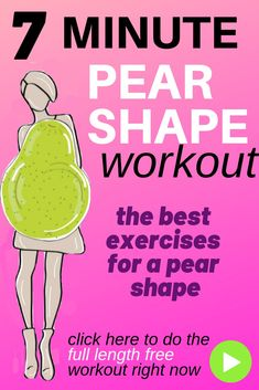 Exercise Video which is a free 7 minute home workout routine that helps increase your calorie burn and it is designed for a typical pear shape as it has the 7 best exercises for a pear shape. This workout video is full length and takes just 7 minutes. Lucy Morning Workout At Home, Morning Workout Routine, Home Exercise Routines, Gym Routine, Workouts For Teens, At Home Workouts, 7 Minute Workout, Workout For Flat Stomach, 7 Minutes