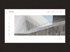 Perspective Architecture Bureau Homepage Slider Animation