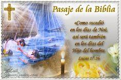 Vidas Santas: Santo Evangelio según san Lucas 17:26