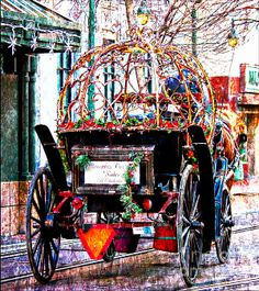 Title:  Memphis Carriage Ride   Artist:  Barbara Chichester   Medium:  Painting - Digiart Paintography