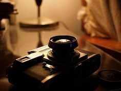 1939 Zeiss Ikon Contax III rangefinder & collapsible Carl Zeiss Jena Sonnar 1:2 5cm by daveelmore, via Flickr