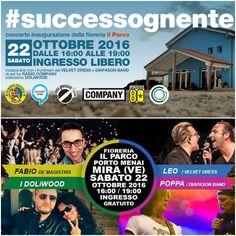 #SuccessoGnente 2016 Porto Menai (Mira-VE)  Hashtag Ufficiali:  #SuccessoGnente2016 , #SuccessoGnente , #8LuglioTornadoDay , #Tornado , #8Luglio2015 , #Help , #Venezia , #RivieradelBrenta , #FioreriaIlParco , #PortoMenai , #Mira e #EventiMiraeGambarare  Altre informazioni su: http://eventimiraegambarare.altervista.org/successognente-2016-porto-menai-mira-ve/