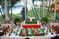 Acuarela: Fiesta Fútbol (Festa Futebol)
