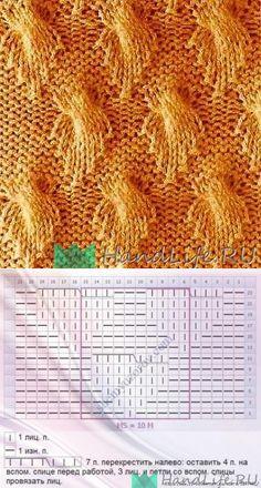 Рельефный узор / Вязание