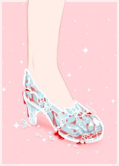 """saccstry - """"I always thought it was weird how when the clock struck midnight all of Cinderella's fancy stuff reverted except her glass slippers. Arte Horror, Horror Art, Candy Gore, Ero Guro, Dibujos Cute, Dark Thoughts, Alien Art, Goth Art, Creepy Art"""