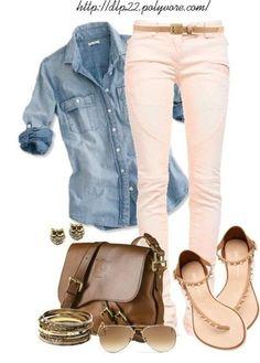 Simple Spring outfit http://artonsun.blogspot.com/2015/03/simple-spring-outfit.html