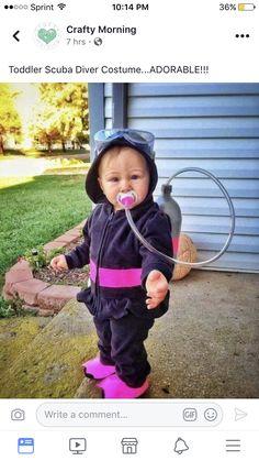 Scuba diver baby!