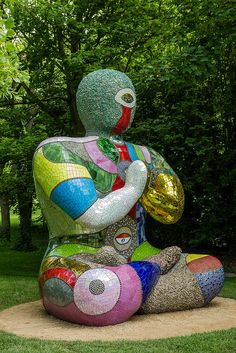 Buddha 2000 by Niki de Saint Phalle- Yorkshire Sculpture Park-2 | Flickr - Photo Sharing!