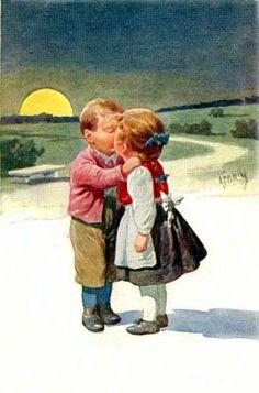 Karl Feiertag (Austria, 1874-1944) Love this