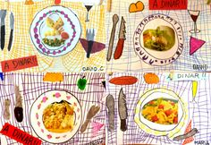 food collage social studies what foods are on your plate at home