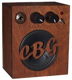 Cigar Box Guitar Amp Amplifier Distortion effect Custom wooden box CBG
