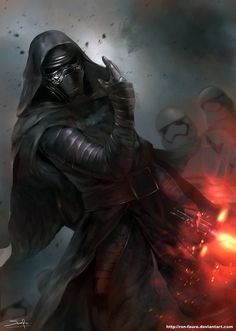 Kylo Ren by Ron-faure