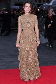 "TODAY'S NEWS: Keira goes to police over ""obsessed fan"": http://vogue.uk/Sc42Fs"