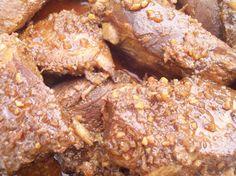 Maple Slow Cooker Boneless Ribs