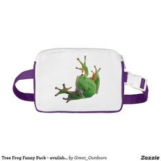 Tree Frog Fanny Pack - available in 6 colors