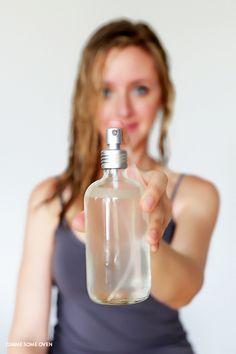 DIY: sea salt texturizing hair spray