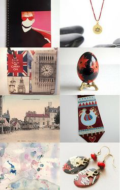 Red and Black fun by Ilan Orbach on Etsy--Pinned with TreasuryPin.com
