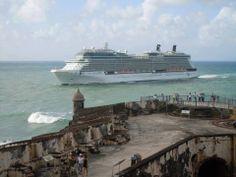 Crucero pasa por El morro