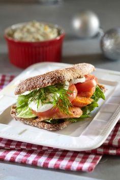 Mehevät kirjolohi-ruispurilaiset | K-Ruoka #kala