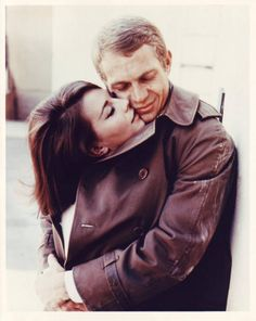 Natalie Wood and Steve McQueen in 'Love With The Proper Stranger' Natalie, as always, looks so pretty!