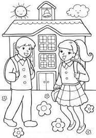 Resultado De Imagen Para Imagenes De Escuelas Infantiles Para Colorear School Coloring Pages Preschool Coloring Pages Sunday School Coloring Pages