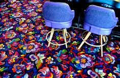 Vegas carpet.  Makes me want to be there!