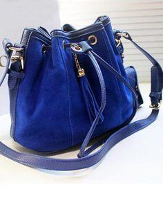 Cute Tassel Casual Genuine Leather One-shoulder Cross Body Bag