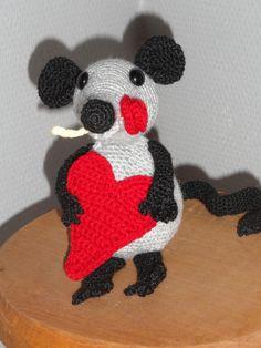 Muisje voor Valentijn/Pinterest Mardine.