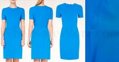 """For anyone wanting a quick refresher, here's the Stella McCartney 'Ridley Stretch Cady Dress,"""""""