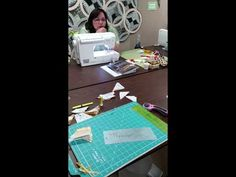 Getting started Paper Piecing Judy Niemeyer quilts by quiltfabric.com - YouTube