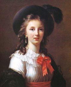 Elisabeth-Louise Vigee-Lebrun (French artist, 1755-1842) Self-Portrait 1781