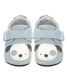 Look what I found on #zulily! Blue Puppy Leather Booties by Jack & Lily #zulilyfinds