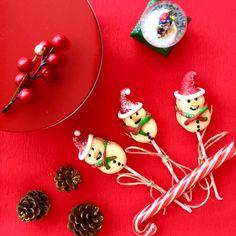 Snowman Macarons #macarons #snowman #christmas