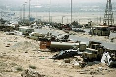 """The """"Highway of Death"""", 1991"""