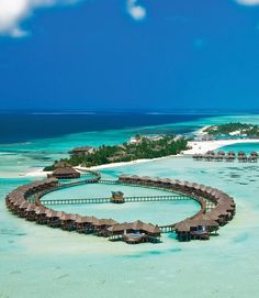5 Most Affordable Overwater Bungalows and Overwater Huts & Romantic Honeymoon Resorts & Exotic Vacations & Olhuveli Beach and Spa The post 5 Most Affordable Overwater Bungalows and Overwater Huts Vacation Places, Vacation Destinations, Places To Travel, Places To Visit, Vacation Ideas, Beach Vacation Spots, Vacation Resorts, Vacation Travel, Beach Travel