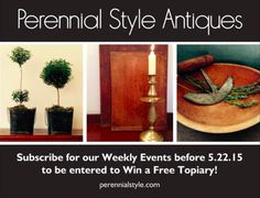 Subscribe — Perennial Style
