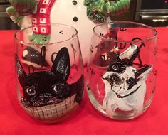 A Christmas prestent for my sister. Her  dogs Lolo and Butter Bean 2015