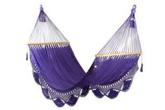 Purple Hammock Great for garden by veronicacolindres on Etsy, $75.00    these are pretty!!