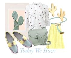 """""""Today We Have Inspired by CACTUS"""" by kotynska-zielinska ❤ liked on Polyvore featuring Erdem, Urban Outfitters, Marc by Marc Jacobs, CAM, Kenzo and Meli Melo"""