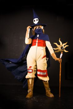 Digimon. Character: Wizardmon. Cosplayer: Piyoko. Photo: Paulina Kin Joo. (K.Hyo) 2011.