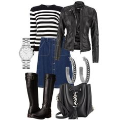 Untitled #18 by inger-lise on Polyvore featuring polyvore, fashion, style, Yves Saint Laurent, maurices, Zara, Gabriella Rocha, Marc by Marc Jacobs and House of Harlow 1960