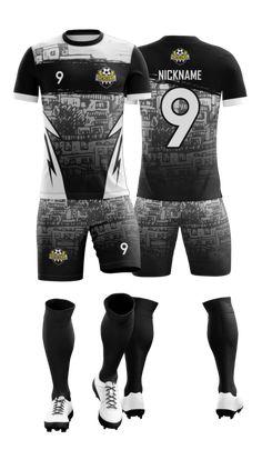Soccer Uniforms, Team Uniforms, Football Jerseys, Football Shirts, Football Shirt Designs, Sports Jersey Design, Tri Suit, Uniform Design, Sport T Shirt