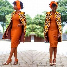 Design by Nanawax ~African fashion, Ankara, kitenge, African women dresses, African prints, African men's fashion, Nigerian style, Ghanaian fashion ~DKK